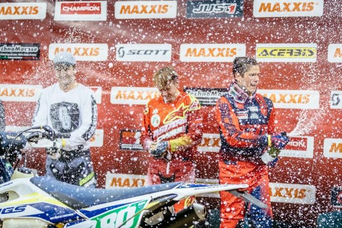 Mistrzostwa Swiata SuperEnduro podium klasa Junior