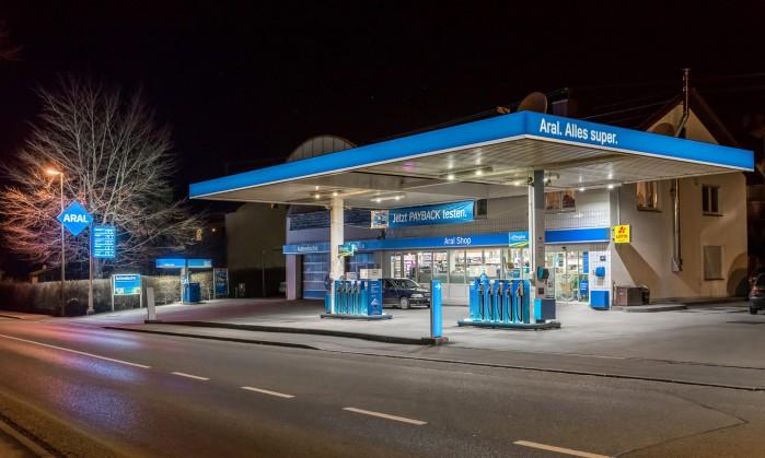 stacja benzynowa Niemcy