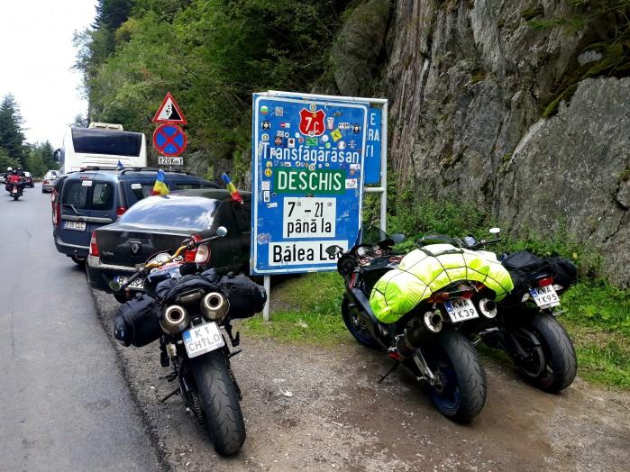 trasa transfogarska motocyklem