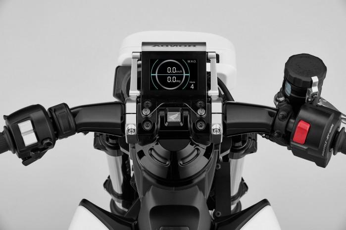 Honda Riding Assist e Concept kokpit