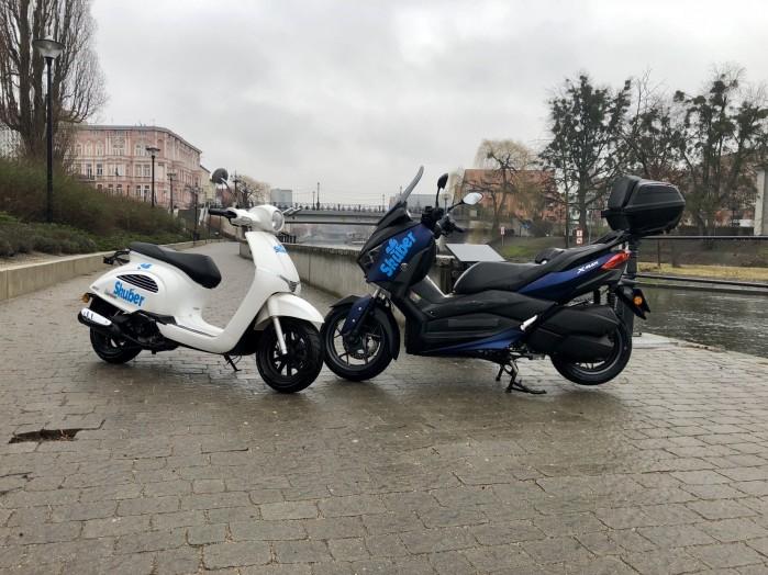Skuber startuje w Polsce
