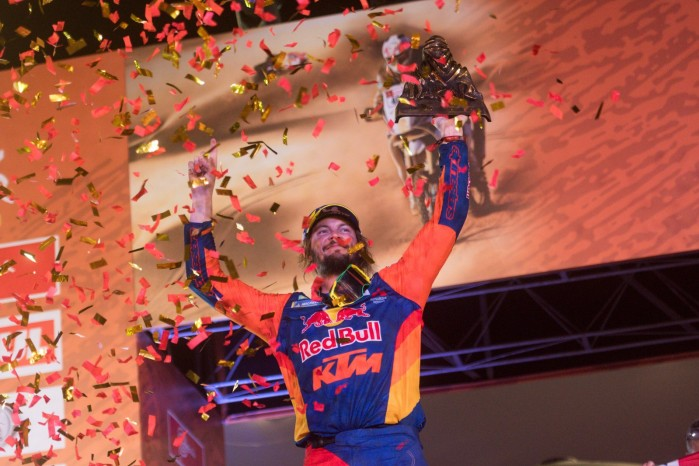 Toby Price Dakar 2019