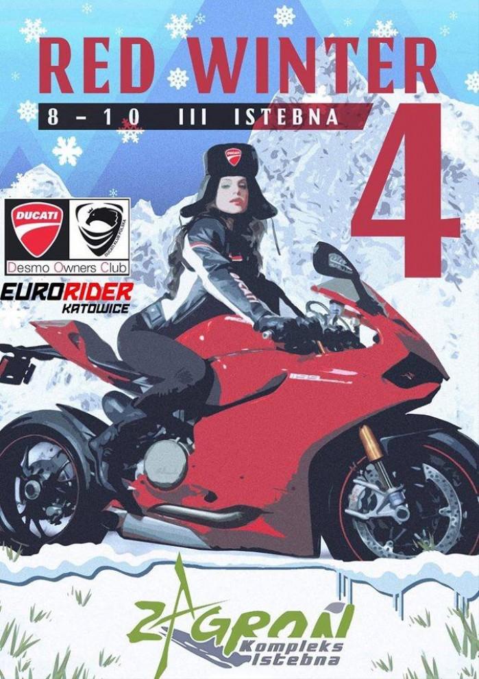 Ducati Red Winter 2019
