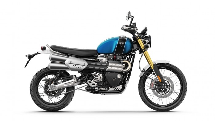 Scrambler1200 XE Blue and Black SIDE1920x1080