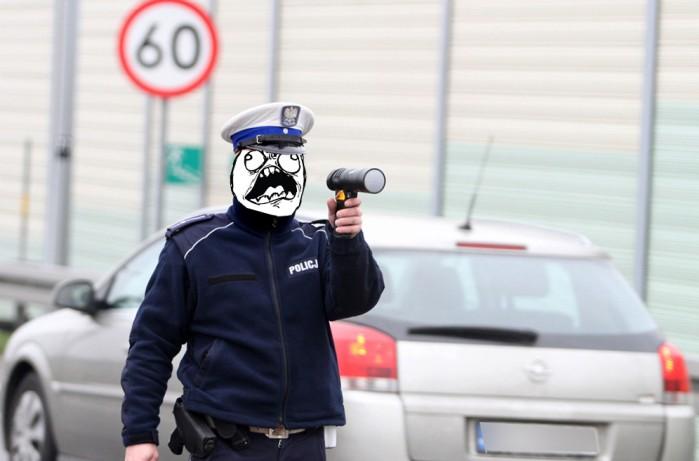 Policja waze