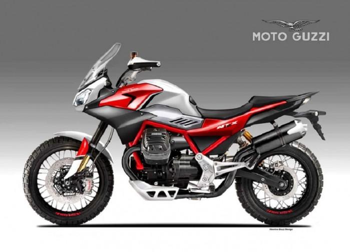 Moto Guzzi V85 TT NTX