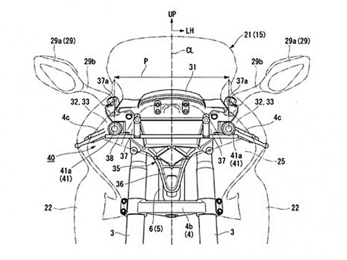 GoldWing patent kamery