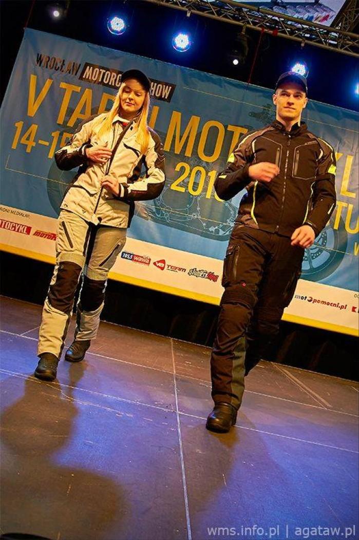 Wroc aw Motorcycle Show odziez