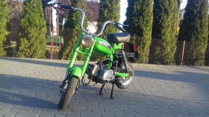 motorynka romet zielona