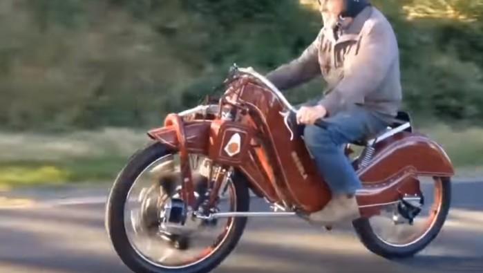 silnik gwiazdowy w motocyklu