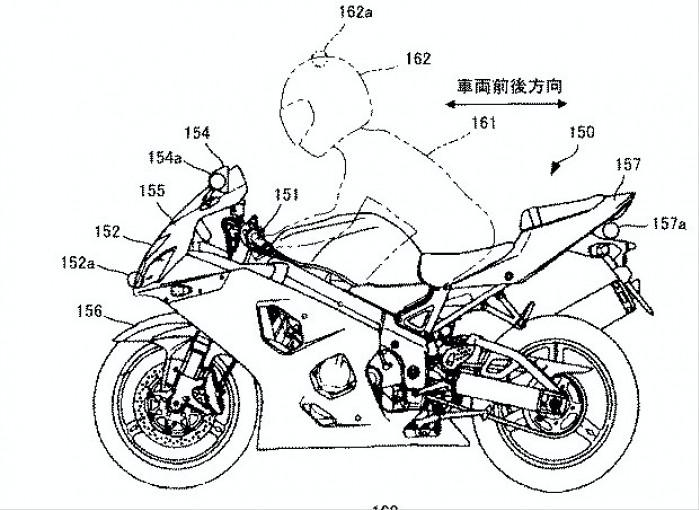 System przeciwwypadkowy Suzuki