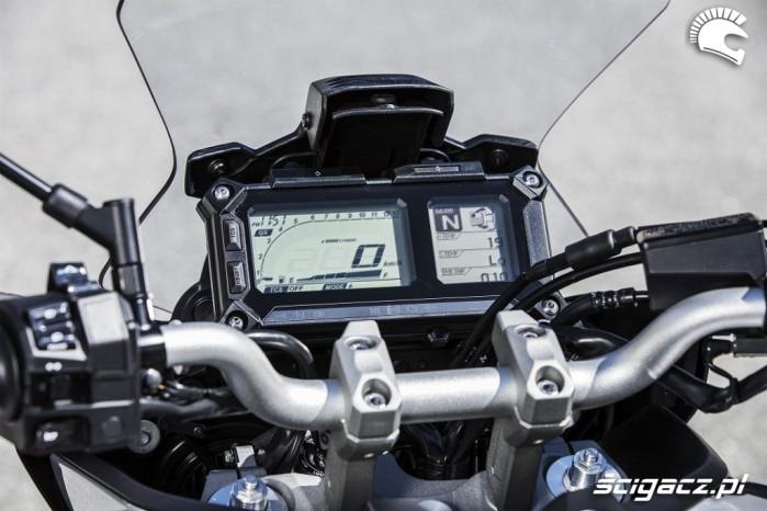 Yamaha Tracer 900 2018 zegary