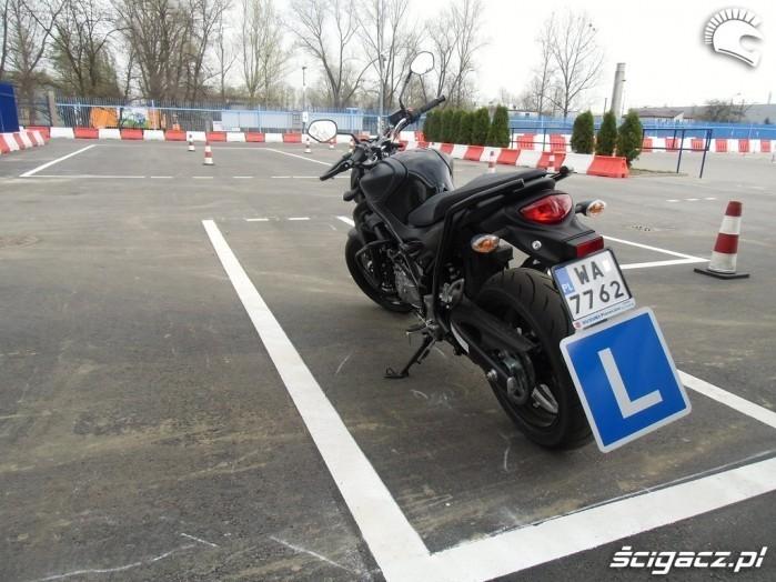 Motocykl egzaminacyjny