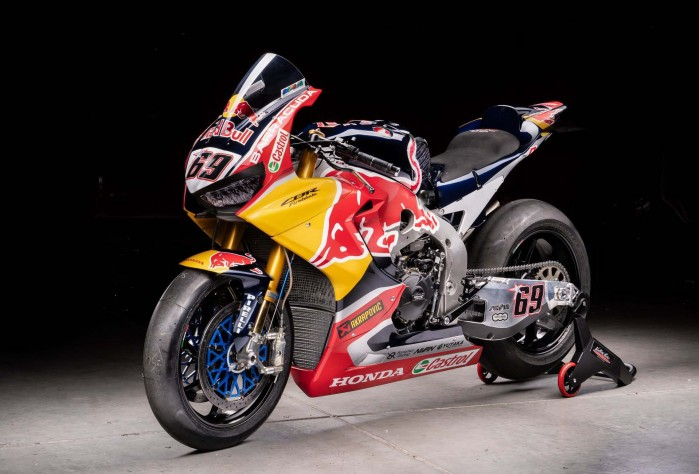 Nicky Hayden WorldSBK Honda CBR1000RR SP2 Ten Kate 06