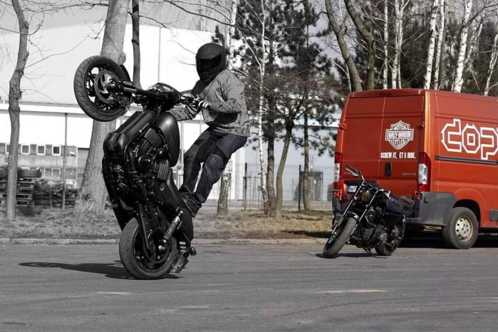 Maciej DOP Harley Davidson Stunt 08