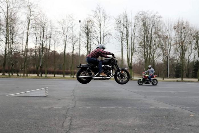 Maciej DOP Harley Davidson Stunt 20