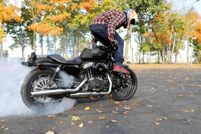 Maciej DOP Harley Davidson Stunt 22