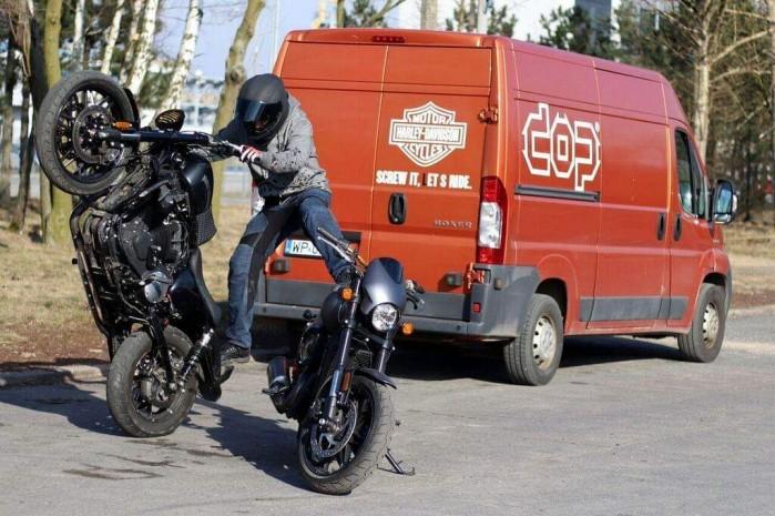 Maciej DOP Harley Davidson Stunt 30