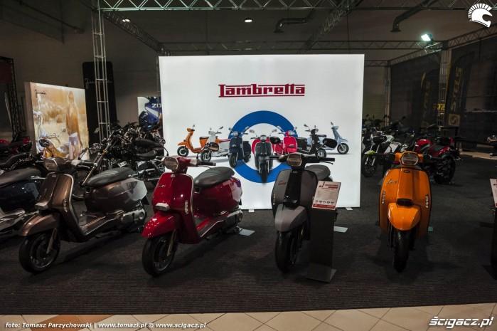 Warsaw Motorcycle Show 2019 Lambretta