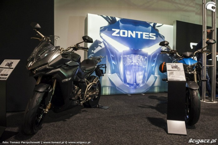 Warsaw Motorcycle Show 2019 Zontes 1