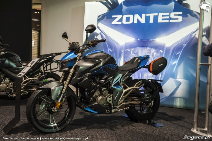 Warsaw Motorcycle Show 2019 Zontes 2