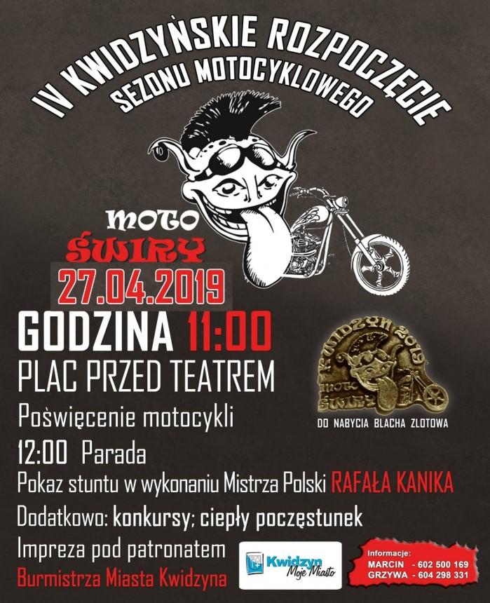 IV Rozpoczecie Sezonu Motocyklowego w Kwidzynie