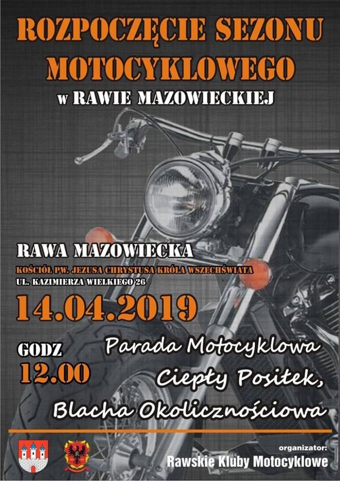 Rozpoczecie Sezonu Motocyklowego w Rawie Mazowieckiej