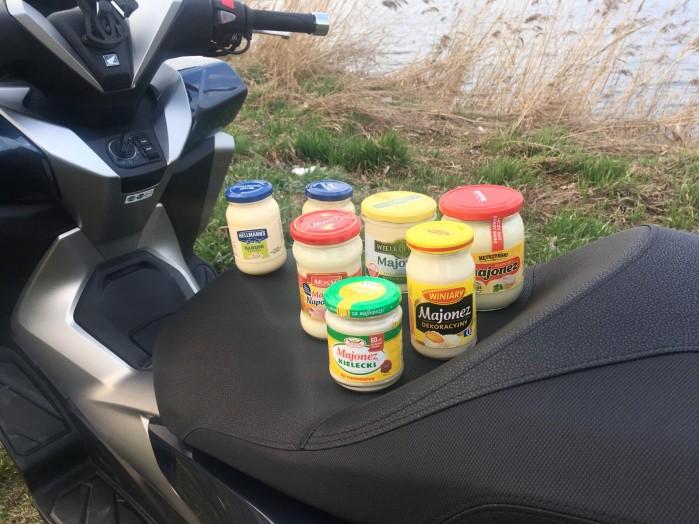 majonez na wyprawe motocyklowa