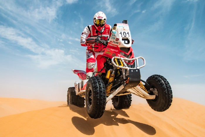 Rafal Sonik Abu Dhabi Desert Challenge
