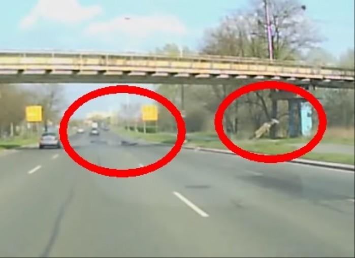 wypadek motocykla i jelenia wroclaw