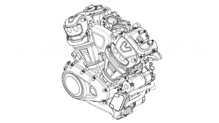 040419 harley davidson new 60 degree v twin engine 0001 fig 1