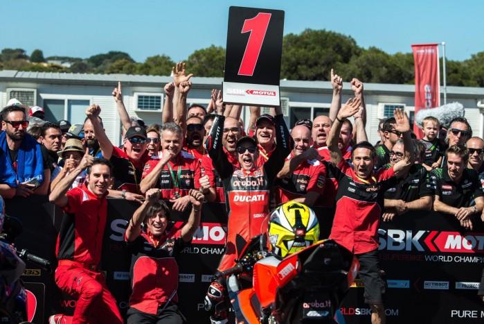Alvaro Bautista Ducati Team