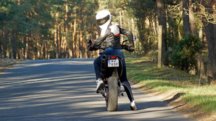 Damskie jeansy motocyklowe City Nomad Kim 1
