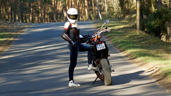 Damskie jeansy motocyklowe City Nomad Kim 2