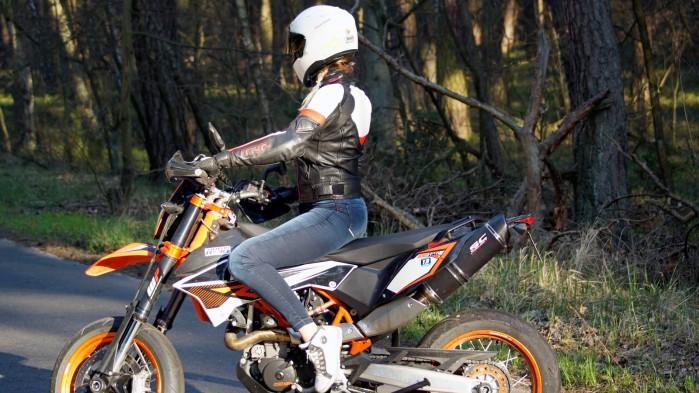 Damskie jeansy motocyklowe City Nomad Kim 5