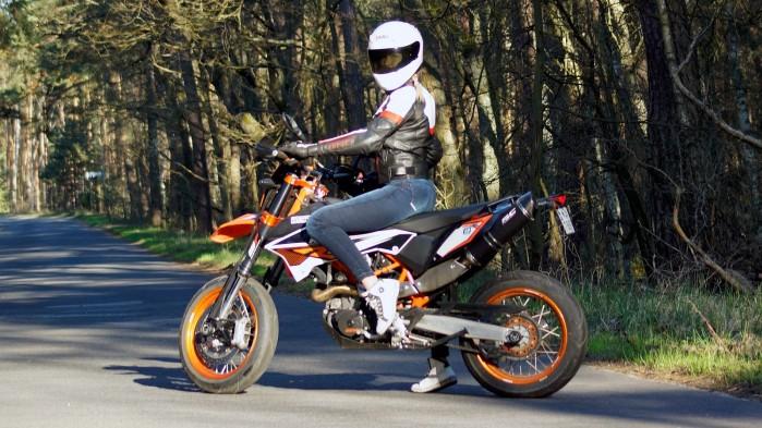Damskie jeansy motocyklowe City Nomad Kim 6