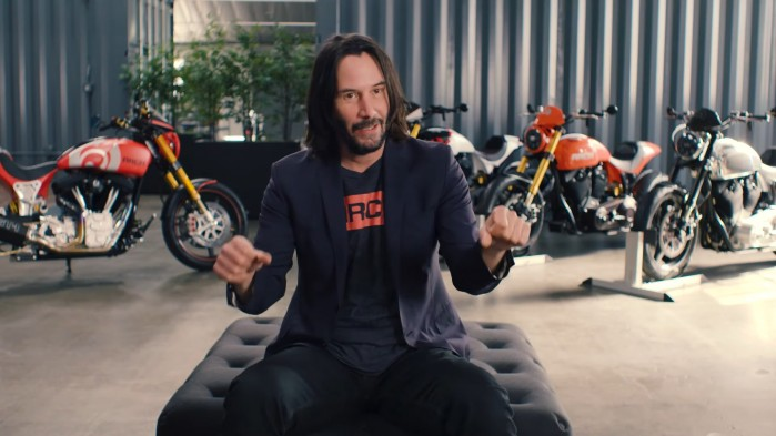 Keanu Reeves BIKE collection