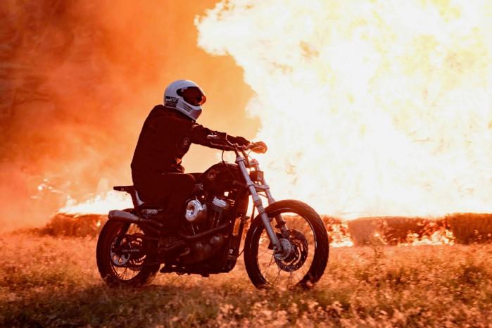 Motocykl ogien
