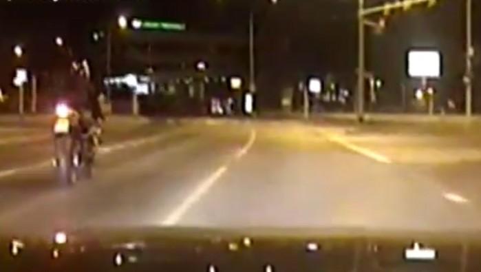 motocyklista wroclaw 143kmh brak badan bez prawo jazdy