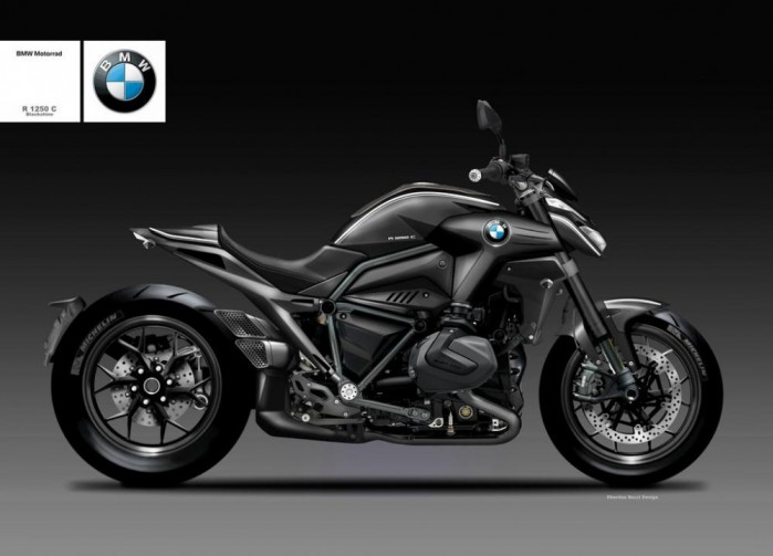 B bmw r 1250 c blackshine 84784