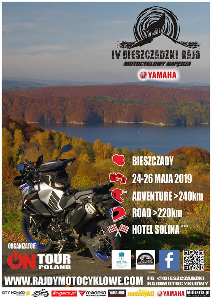 Plakat Rajd Bieszczadzki small