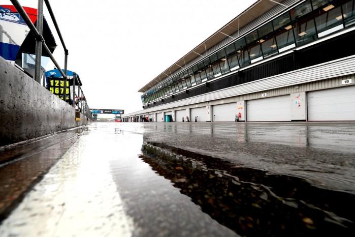 Silverstone mokro