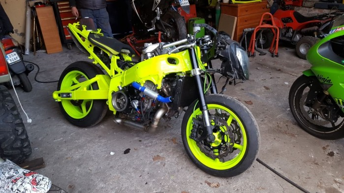 Adam Gutkowski motocykl 12