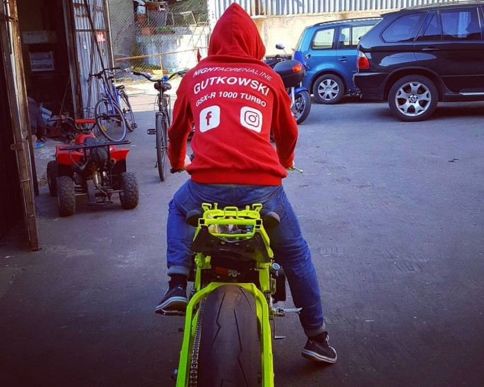 Adam Gutkowski motocykl 13