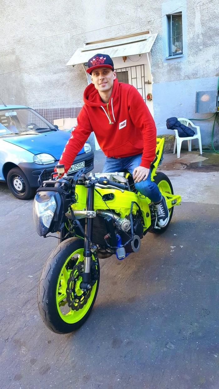 Adam Gutkowski motocykl 18