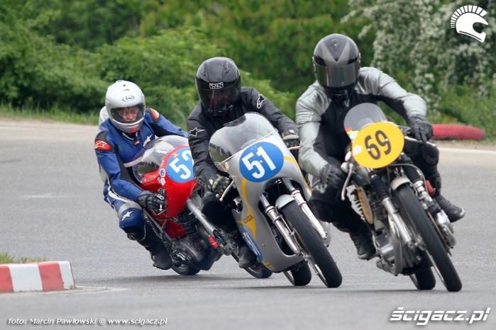 stawka startych motocykli