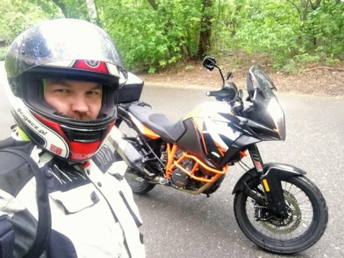 KTM 1290 Super Adventure R Beni test motocykla