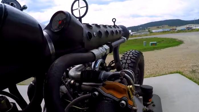 motocykl diesel 2 turbiny