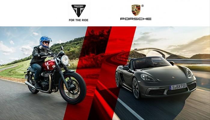 Triumph i Porsche