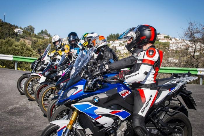 hiszpania motocyklem
